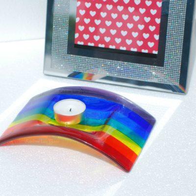 Rainbow Candle Bridge / Arch