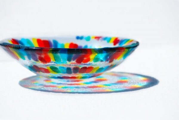 Spiral Rainbow Bowl